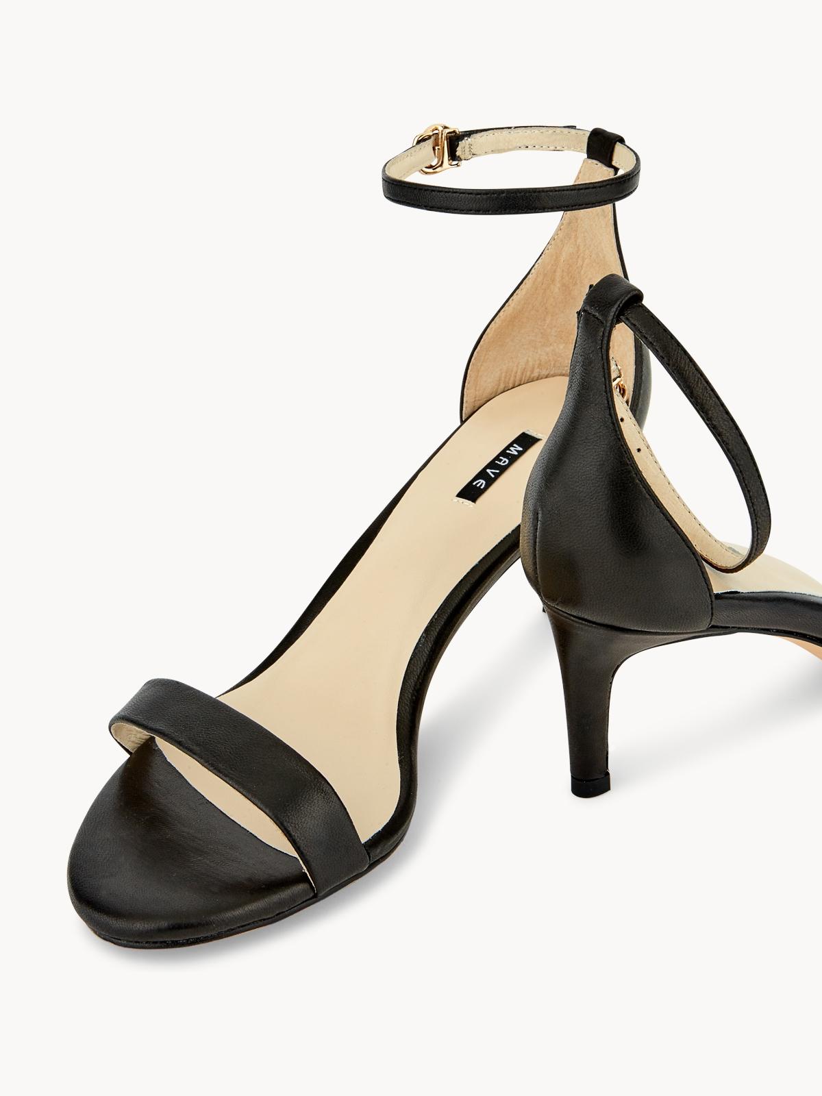 Mave Bliss Mid Heels Black