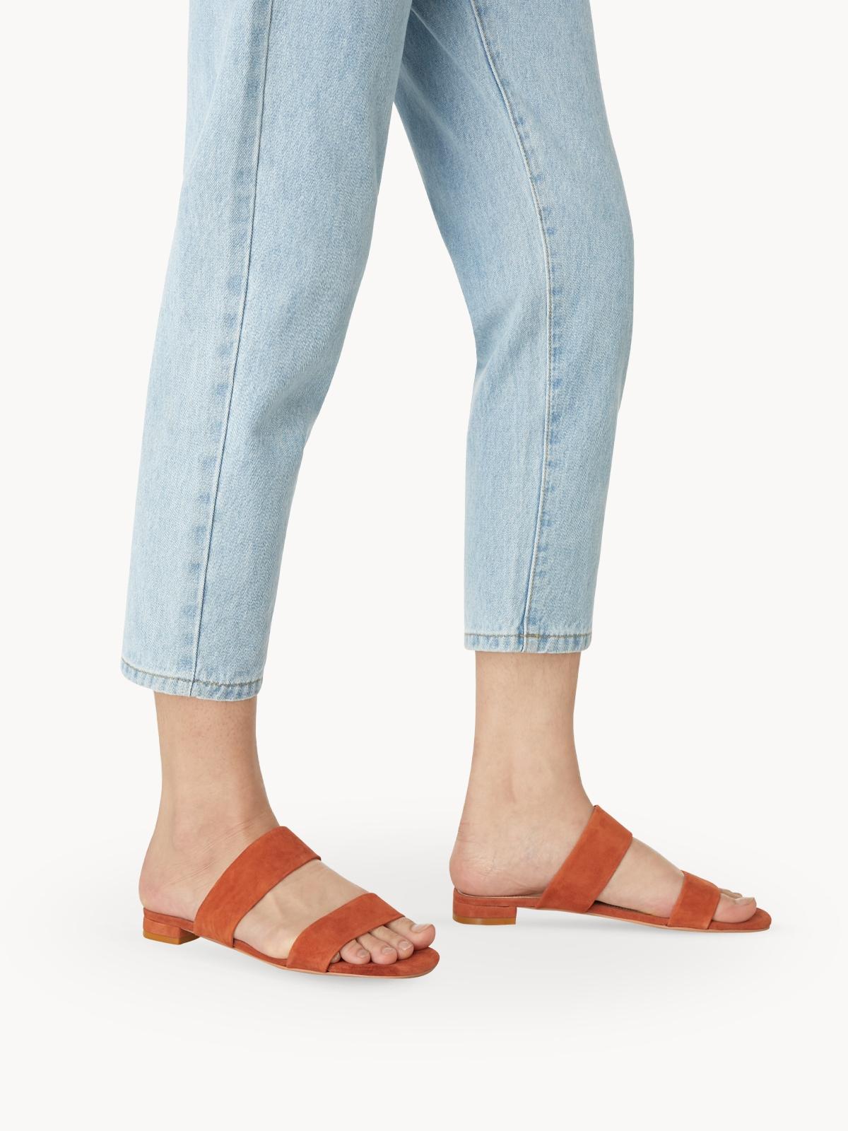 Mave Thea Sandals Orange