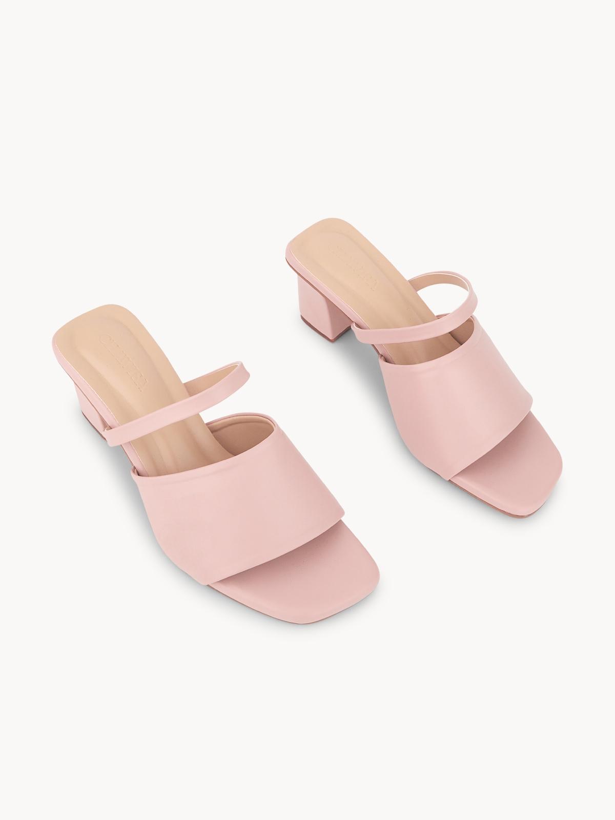 Chawisa Mule Heels Pink