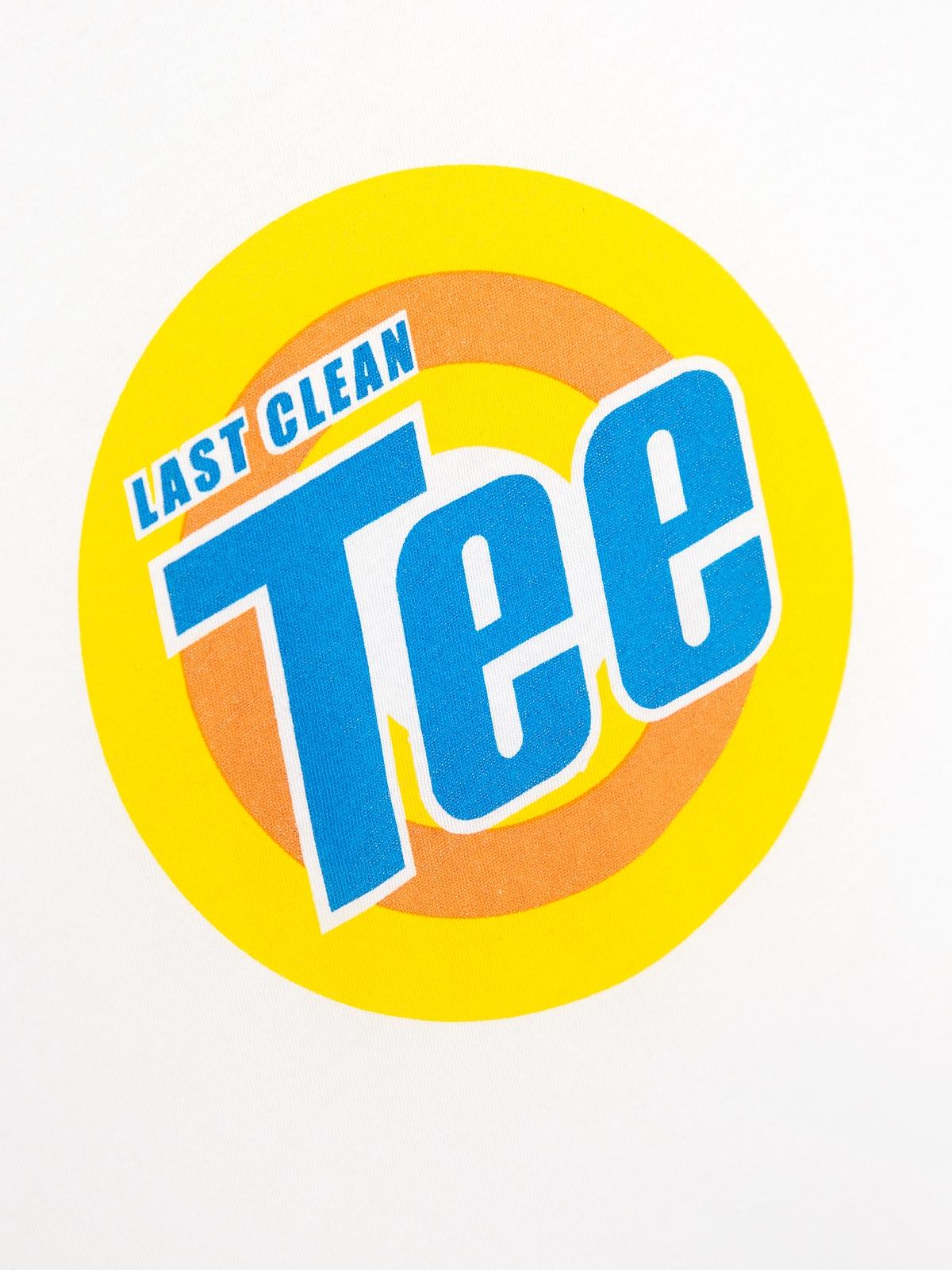 Last Clean Tee Graphic Tee White