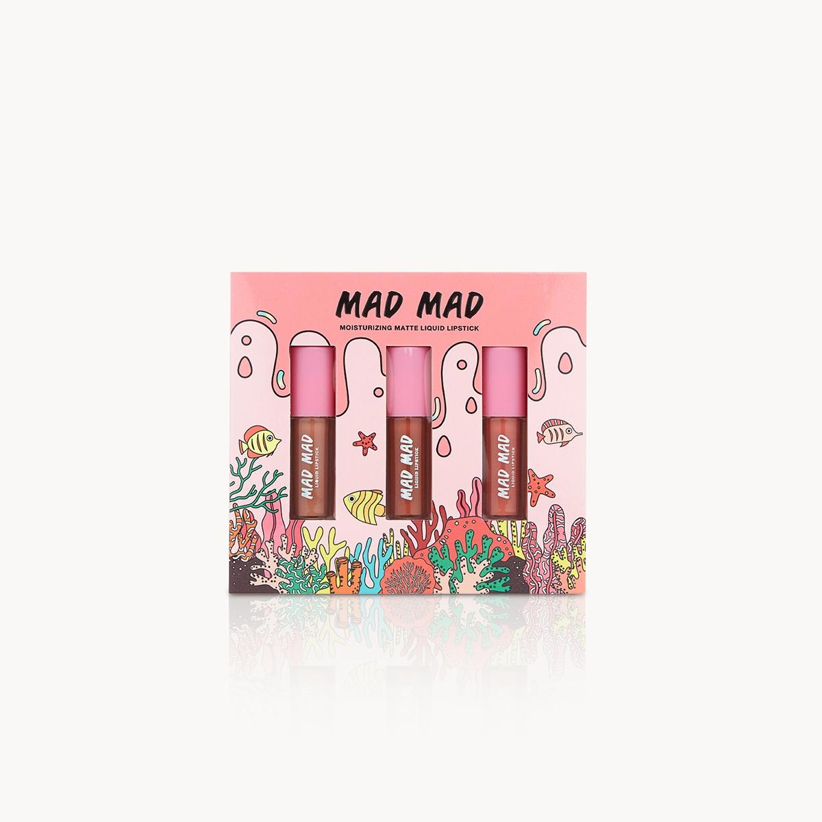 Mad Mad Matte Liquid Lipstick Box Set