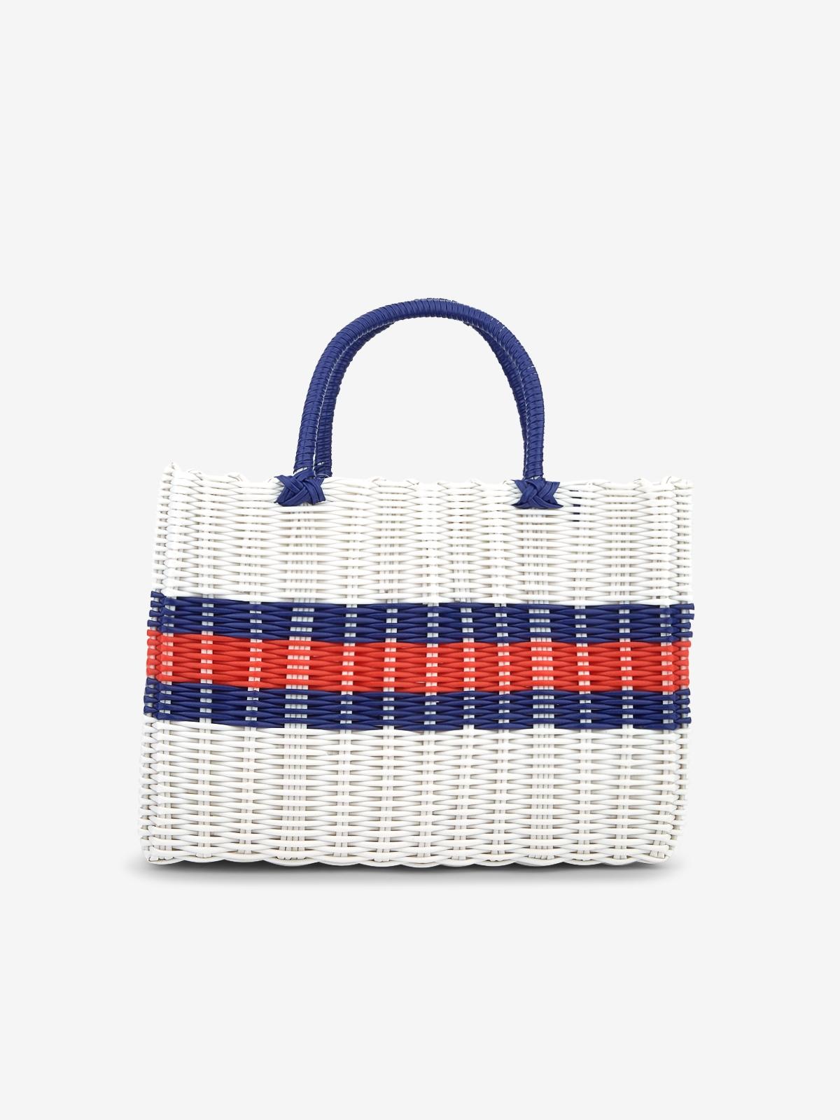 Marnie Gardener Basket Bag White