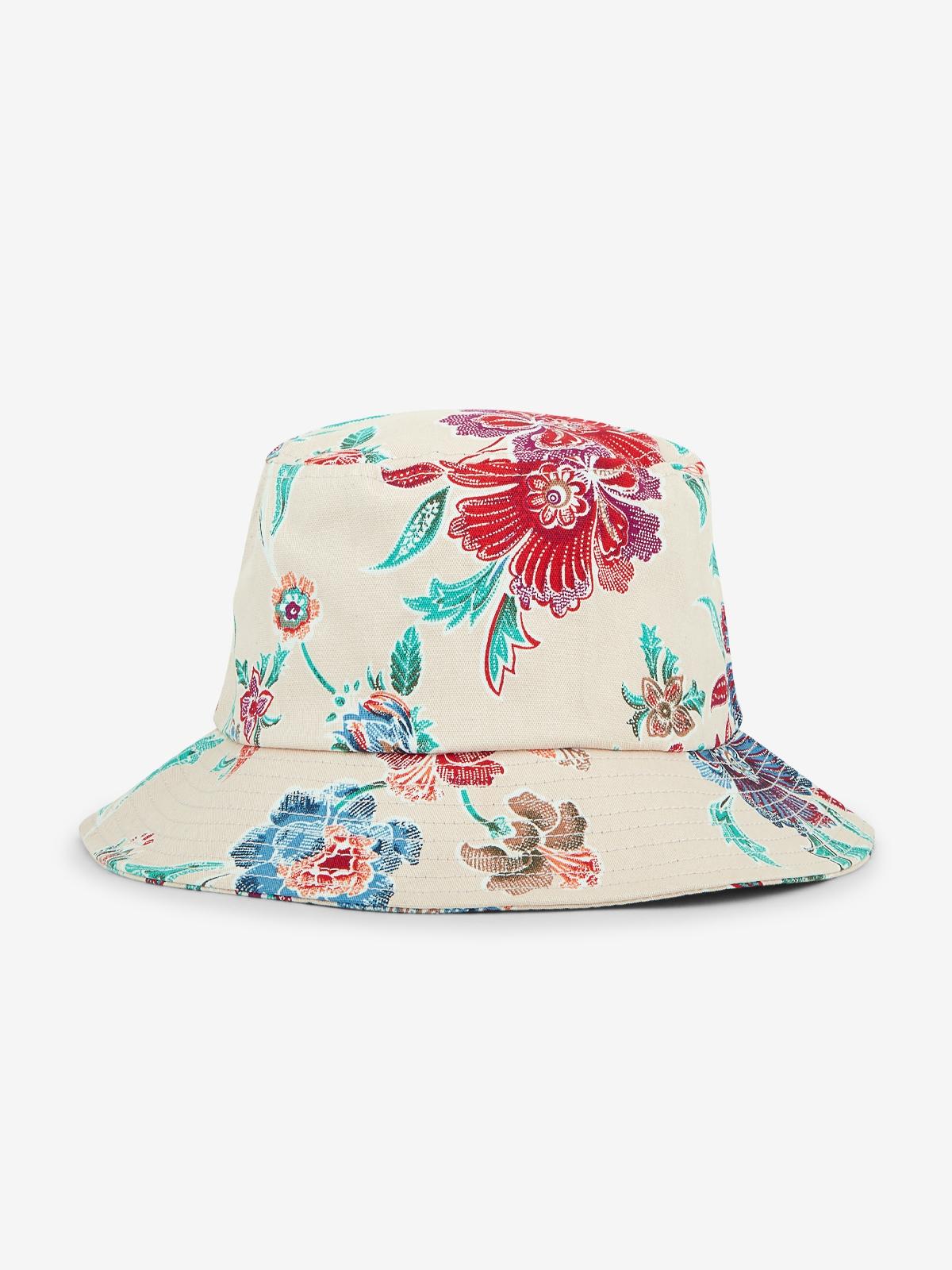Paint Style Floral Bucket Hat Print