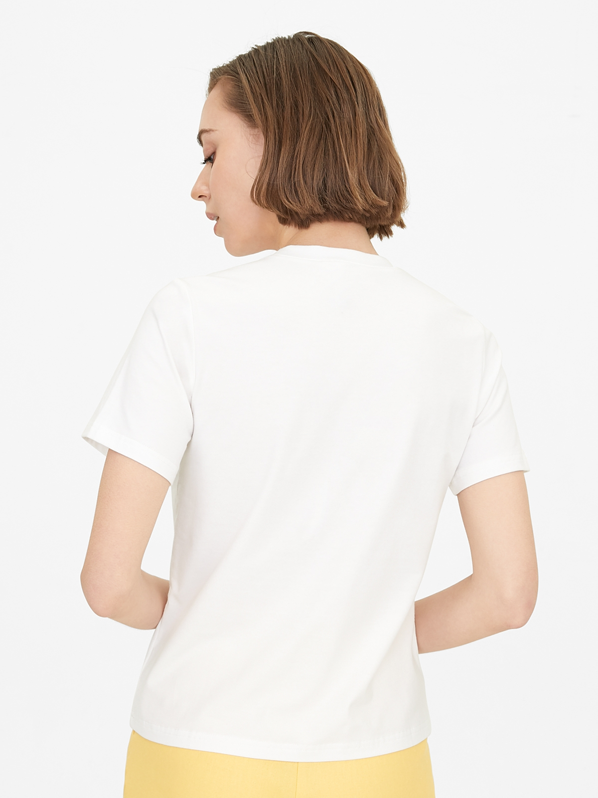 Not A Monday Person Graphic Tee White