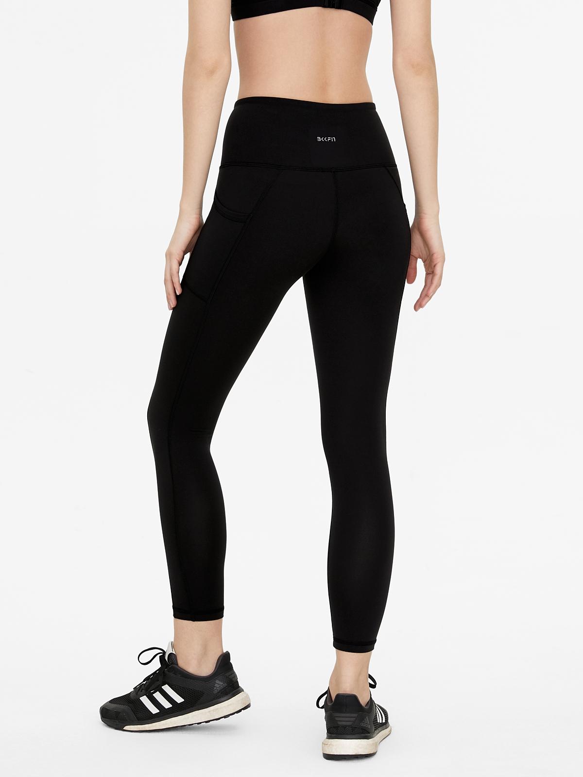 BKKFit Premium V Cut Leggings Black