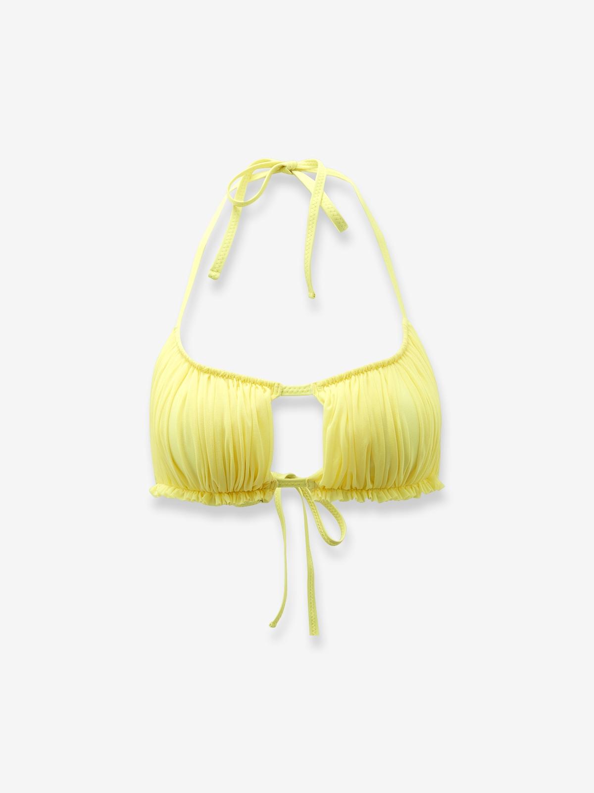 Try by Yorata Bandeau Bikini Lemon