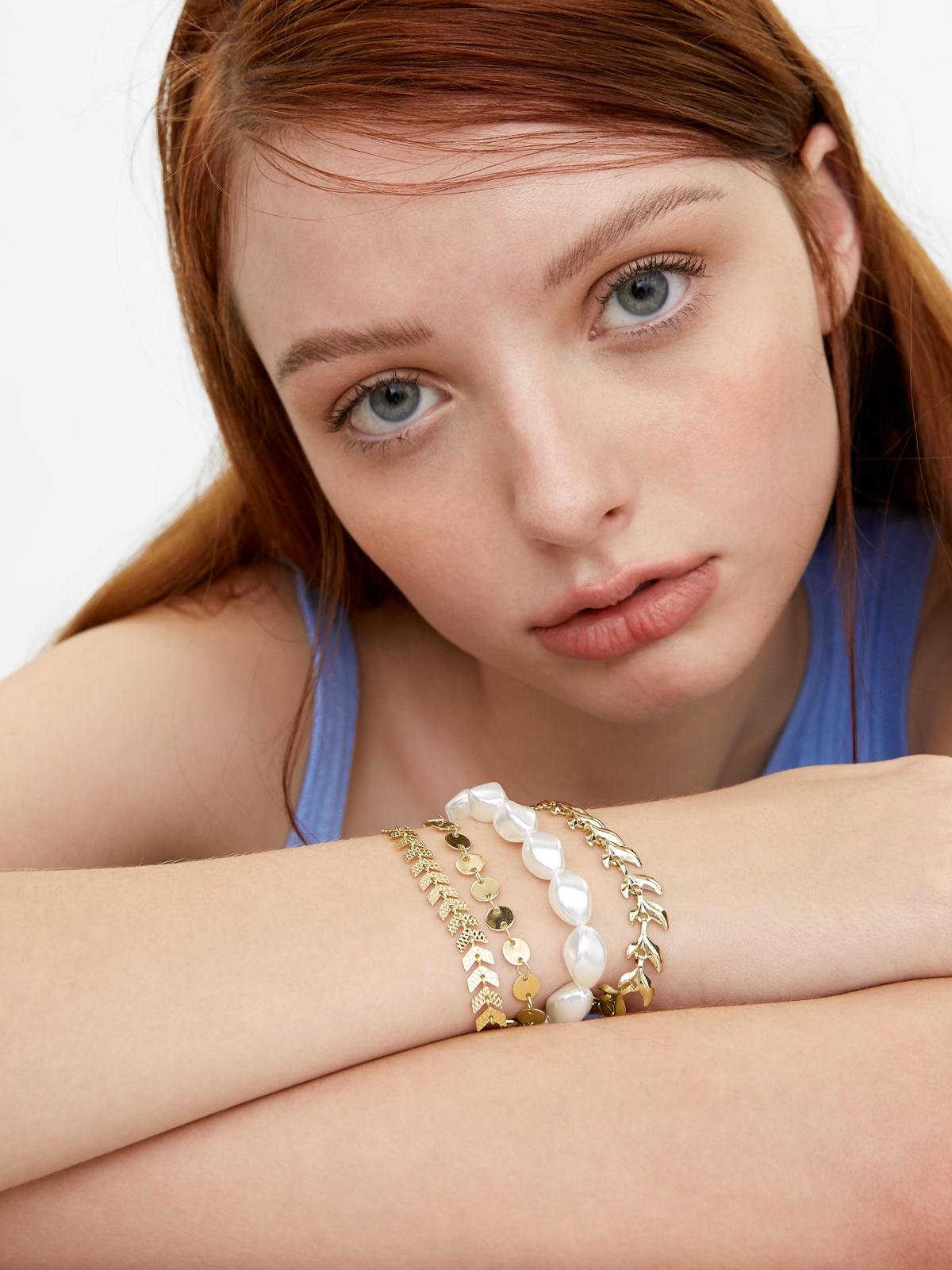 Multiple Chain Bracelet Gold