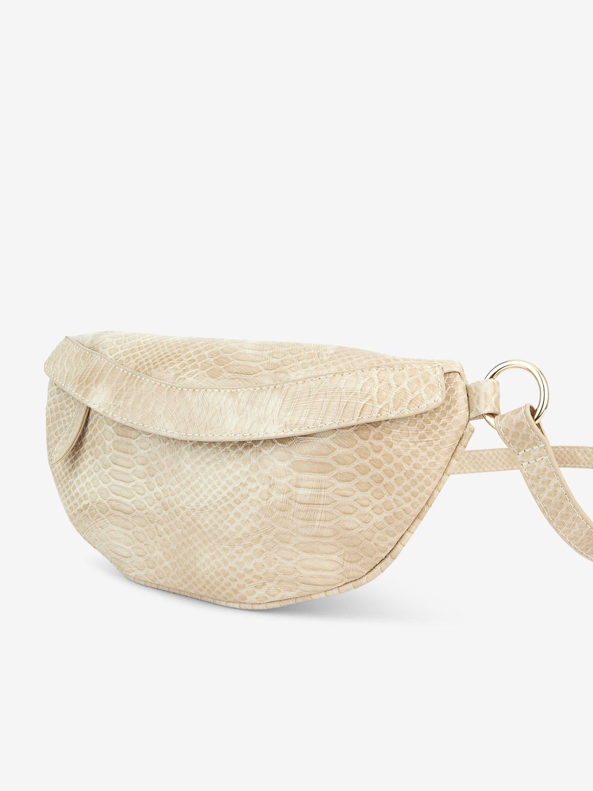 Semi Circle Belt Bag Beige