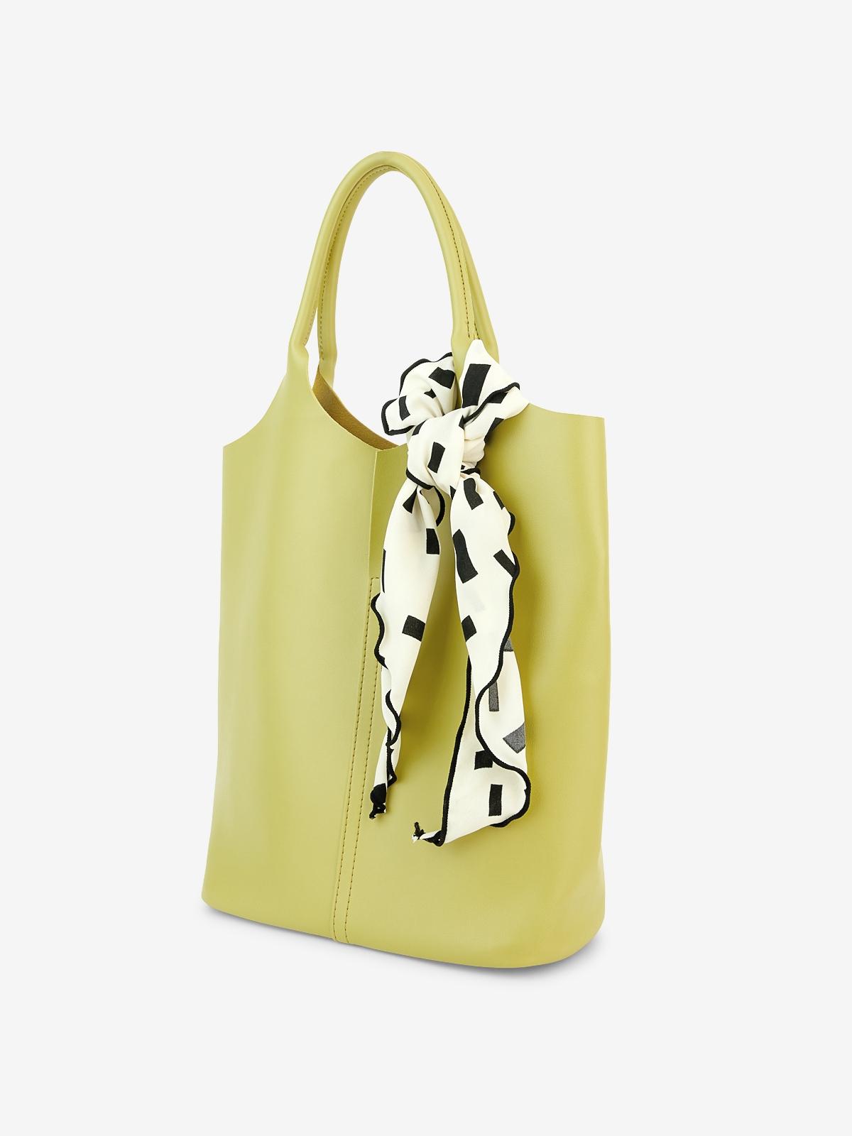 Scarf Hobo Bag Green