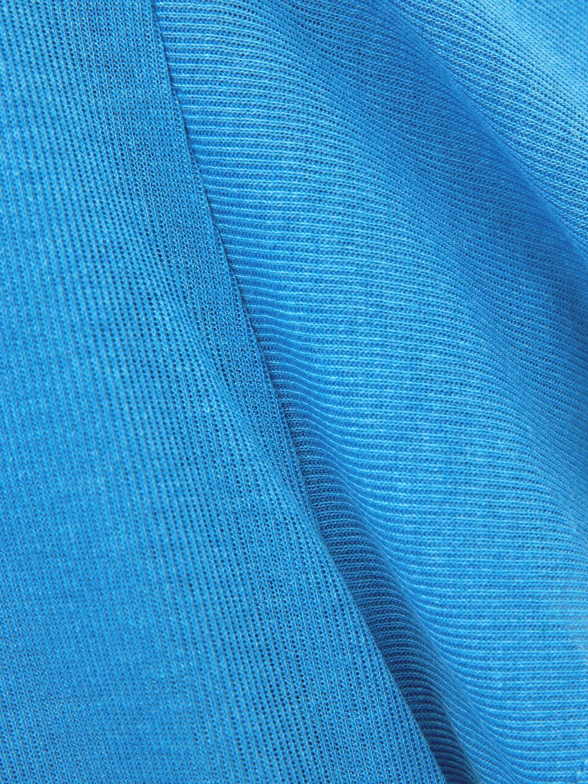 Butterfly Sleeve Top Blue