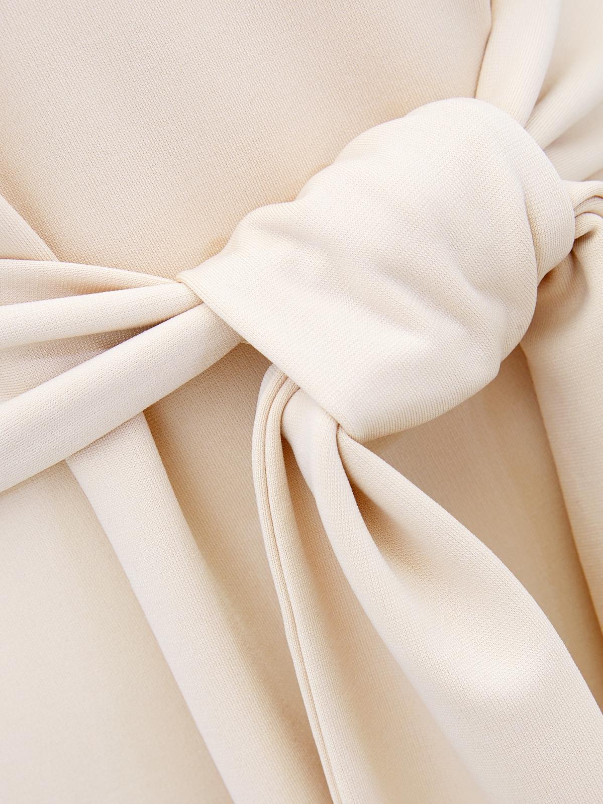 Tie Dye Long Sleeves Tee Orange
