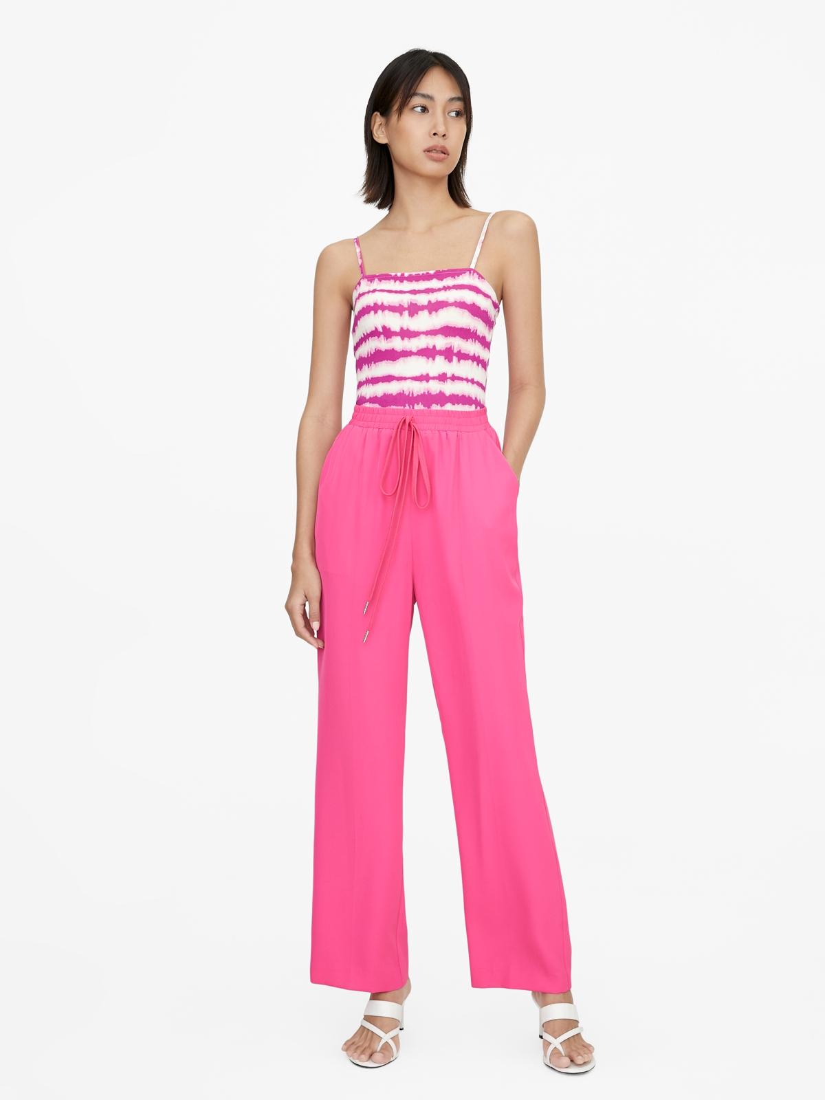Tie Dye Tank Bodysuit Pink