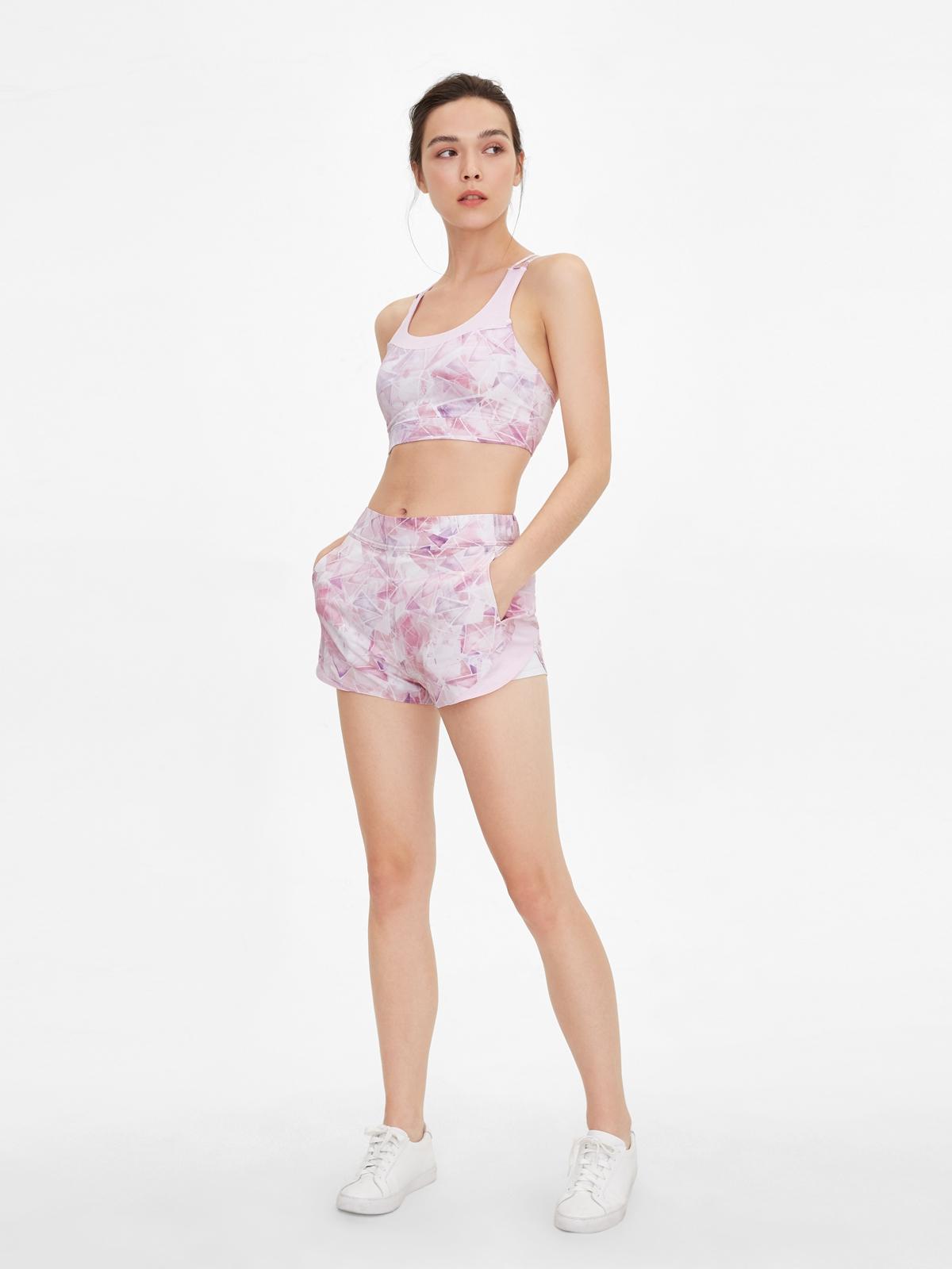 Wakingbee Energy Shorts Pink