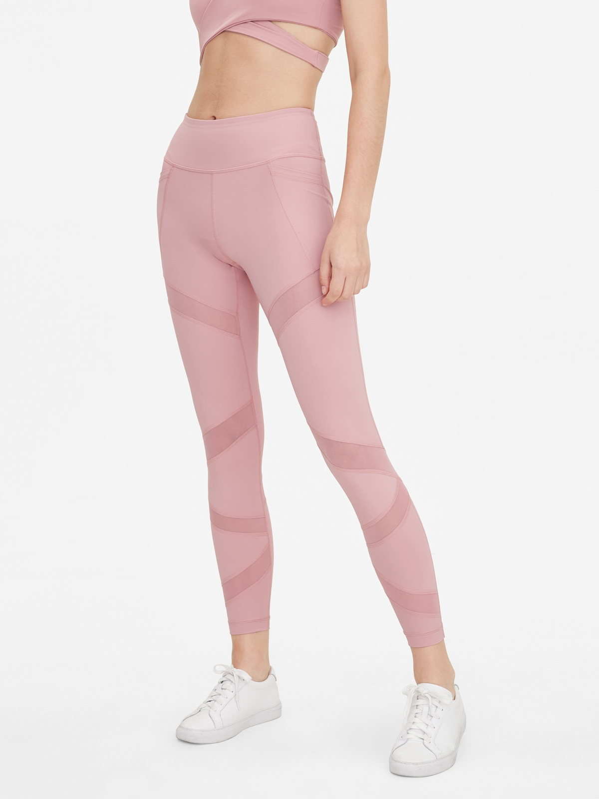 Wakingbee Symmetry Leggings Pink