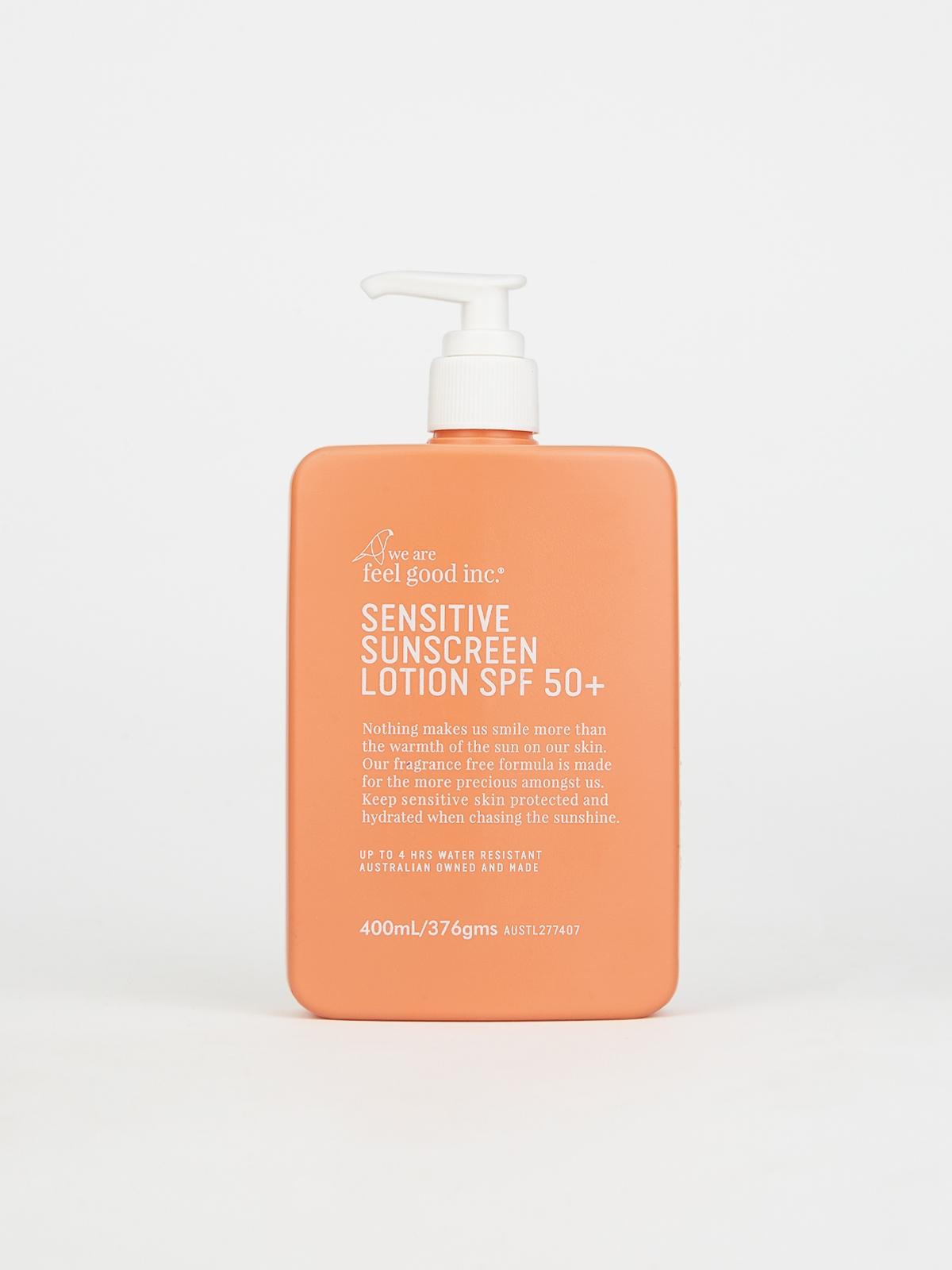We Are Feel Good Sensitive Sunscreen Lotion SPF 50 400