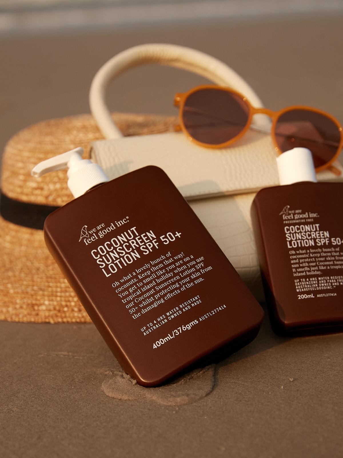 We Are Feel Good Coconut Sunscreen Lotion SPF 50 400 ML