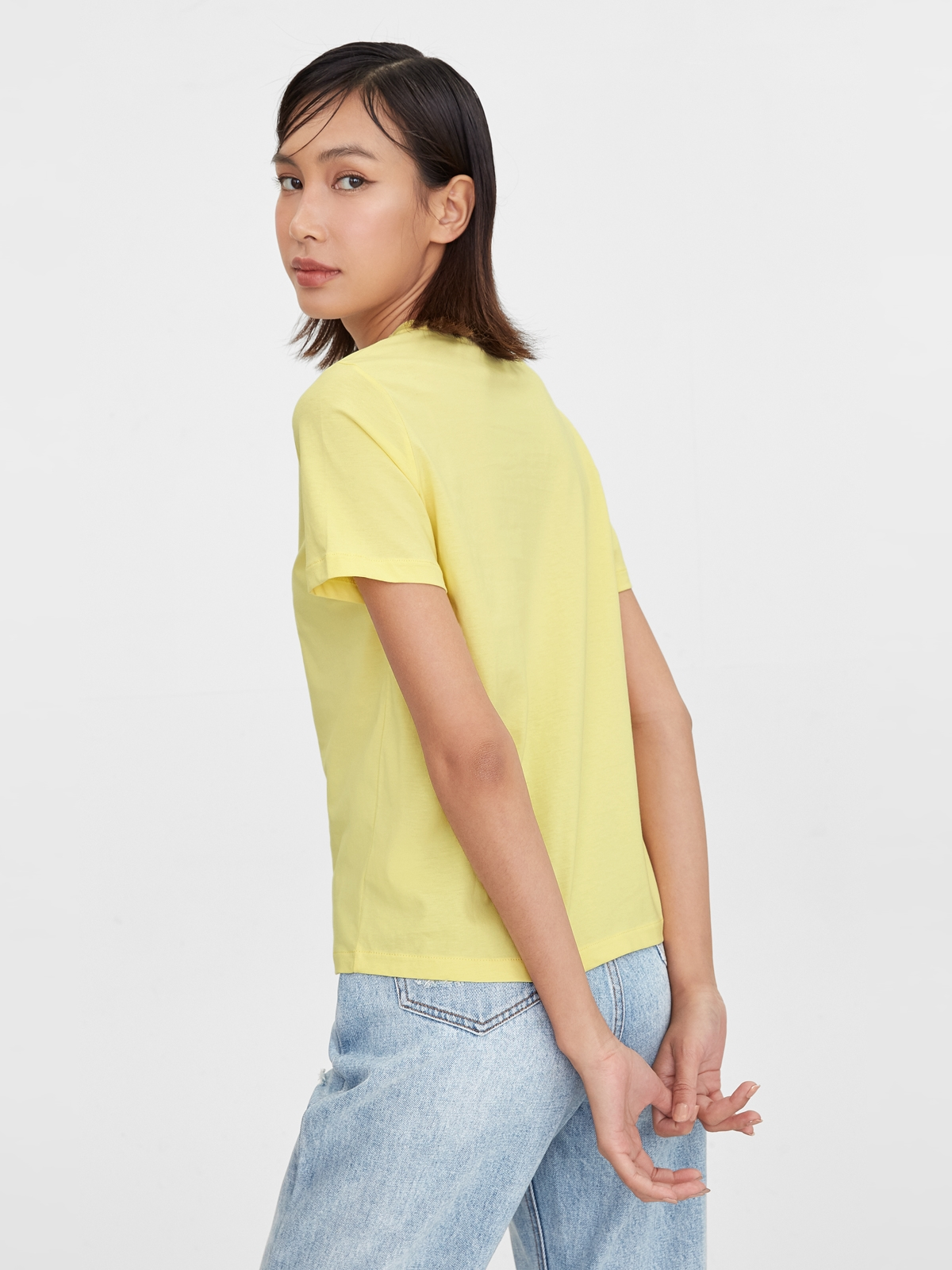 Know Your Worth Graphic Tee Yellow