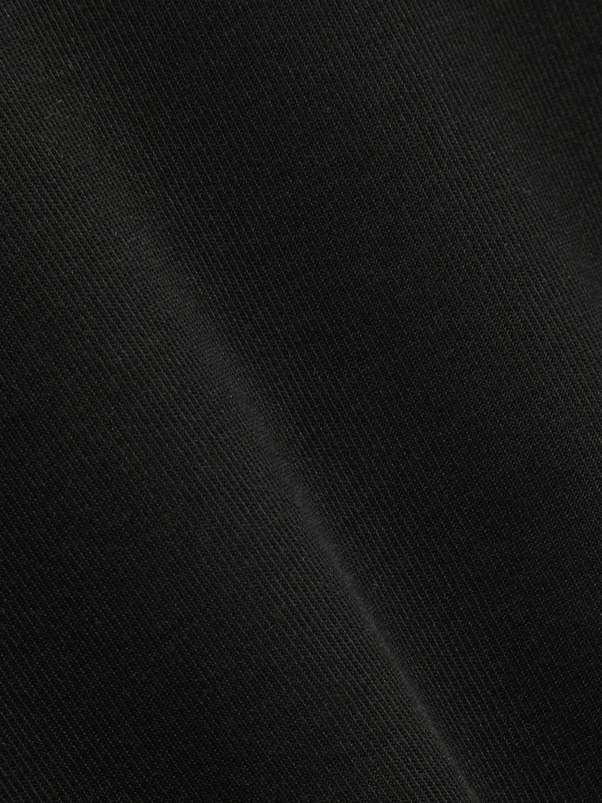 V Neck Flared Short Sleeves Top Black