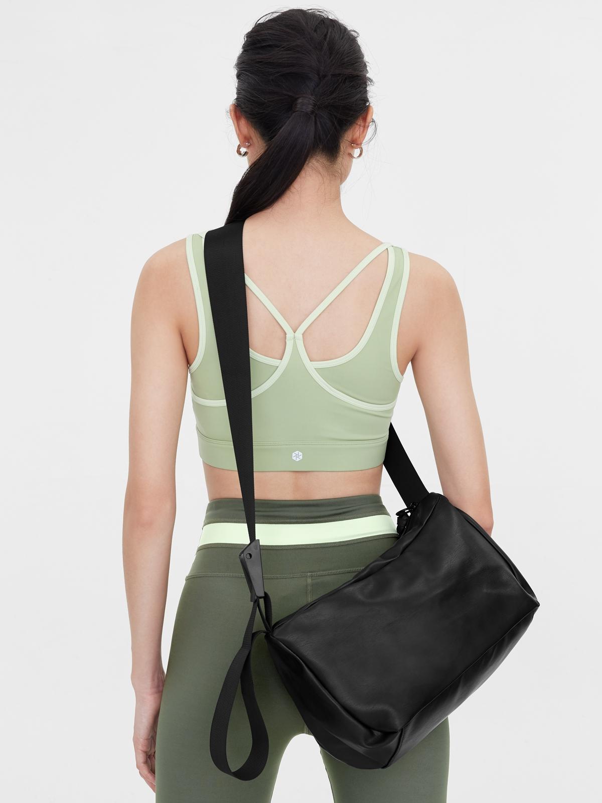 Rectangle Duffle Bag Black
