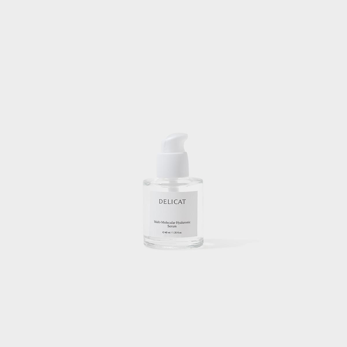Delicat Skincare MultiMolecular Hyaluronic Serum