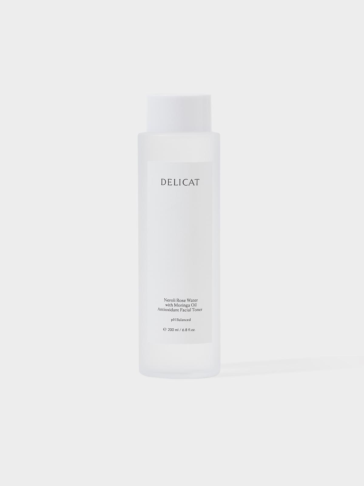 Delicat Skincare Neroli Rose Water with Moringa Oil Ton