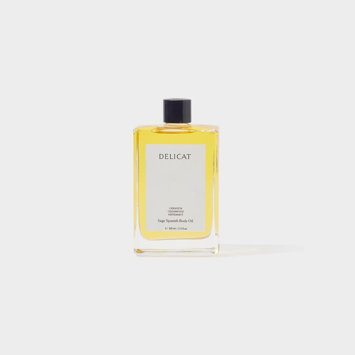 Delicat Skincare Sage Spanish Body Oil