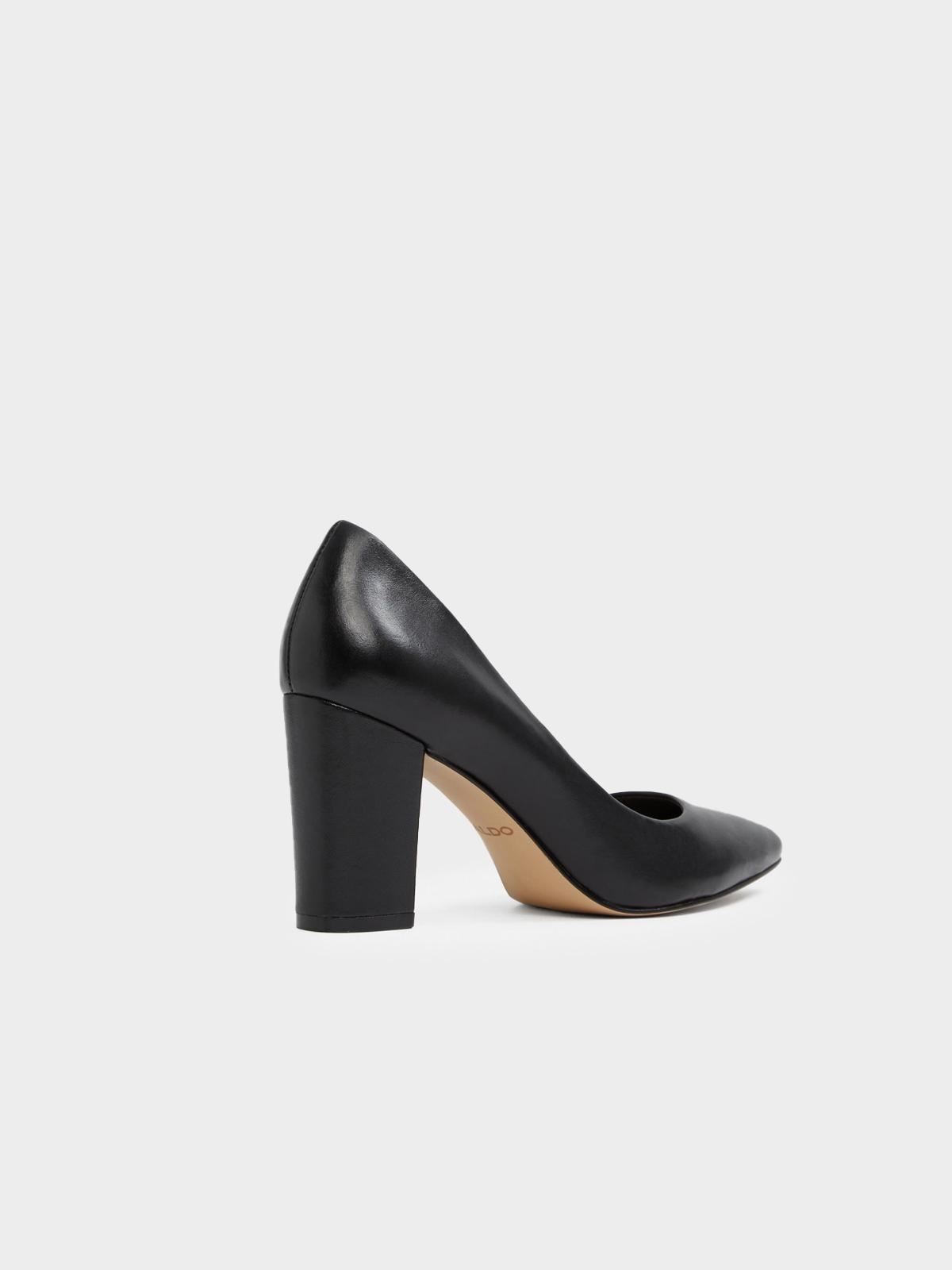 Aldo Raerka Pointed Toe Block Heels Black