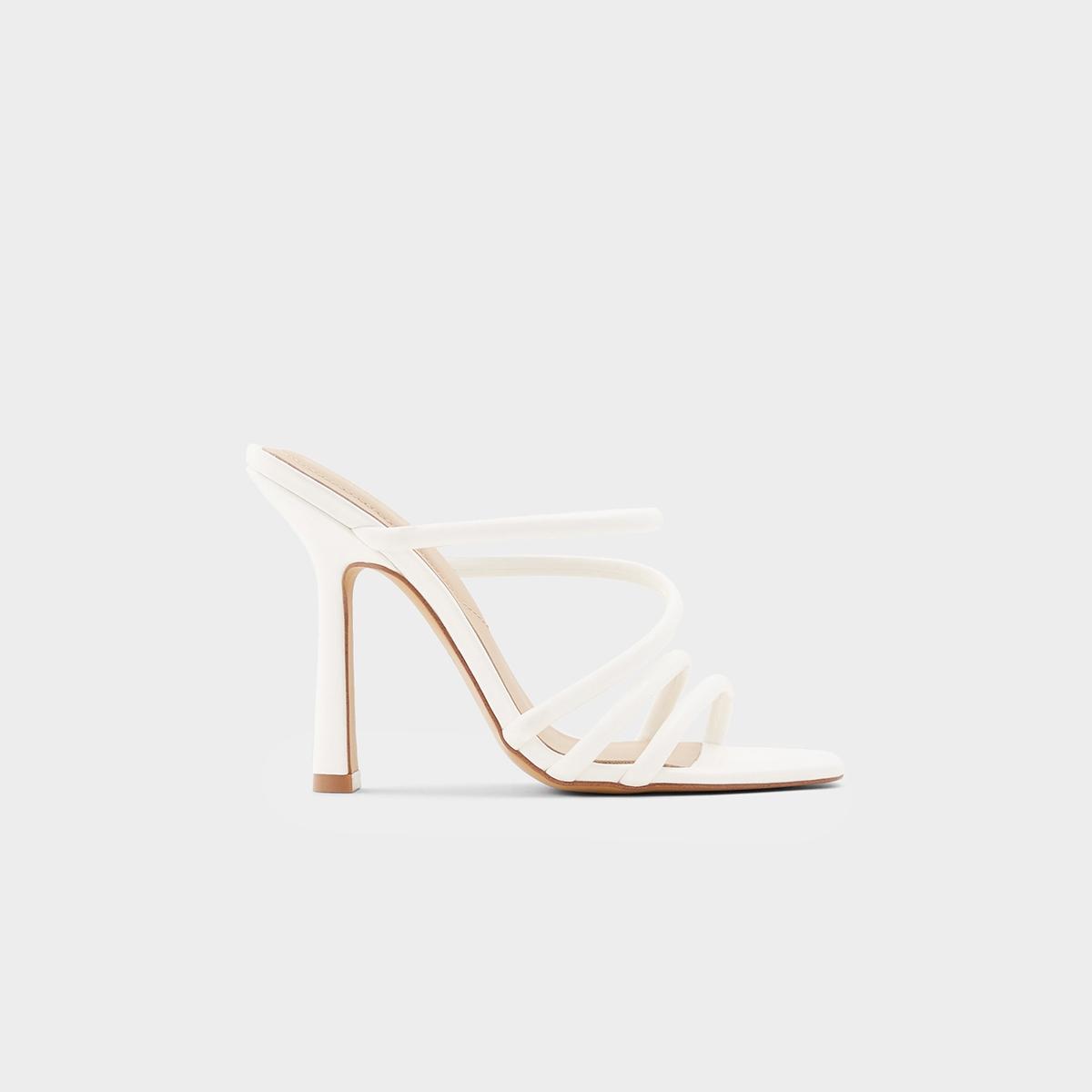 Aldo Arianna Heels White