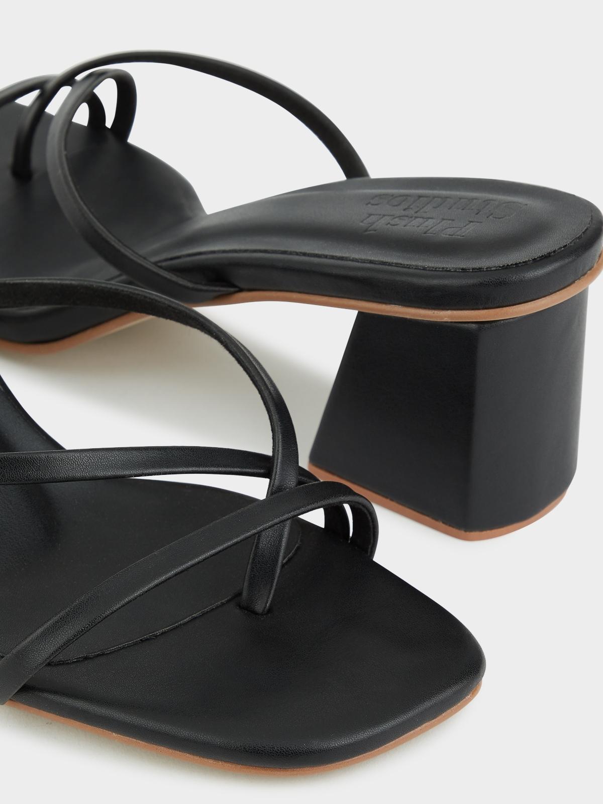 Plush Studios Bella High Heels Black