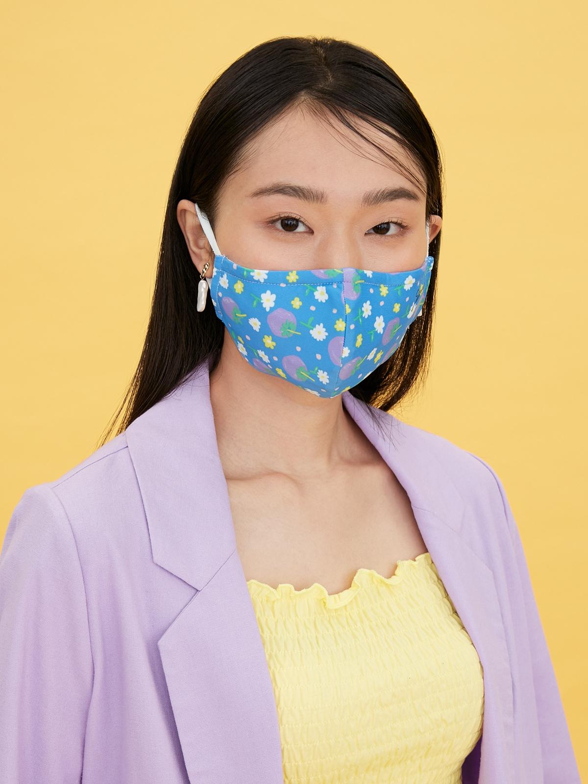 Sabina Thai Fruit Mask Dark Blue