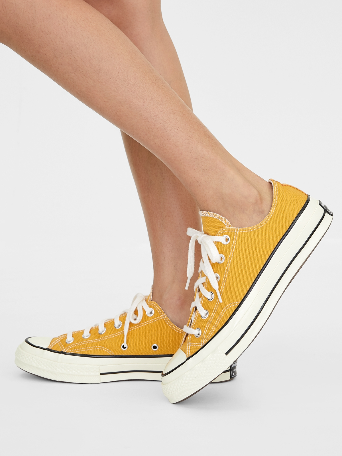 Converse All Star 70 Ox Sunflower Canvas Sneakers Musta