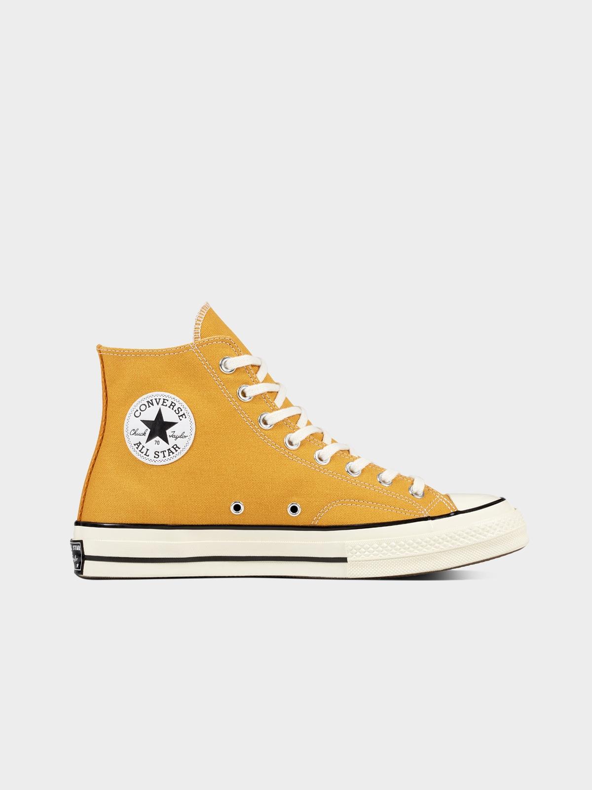 Converse All Star 70 Hi Sunflower Sneakers Mustard