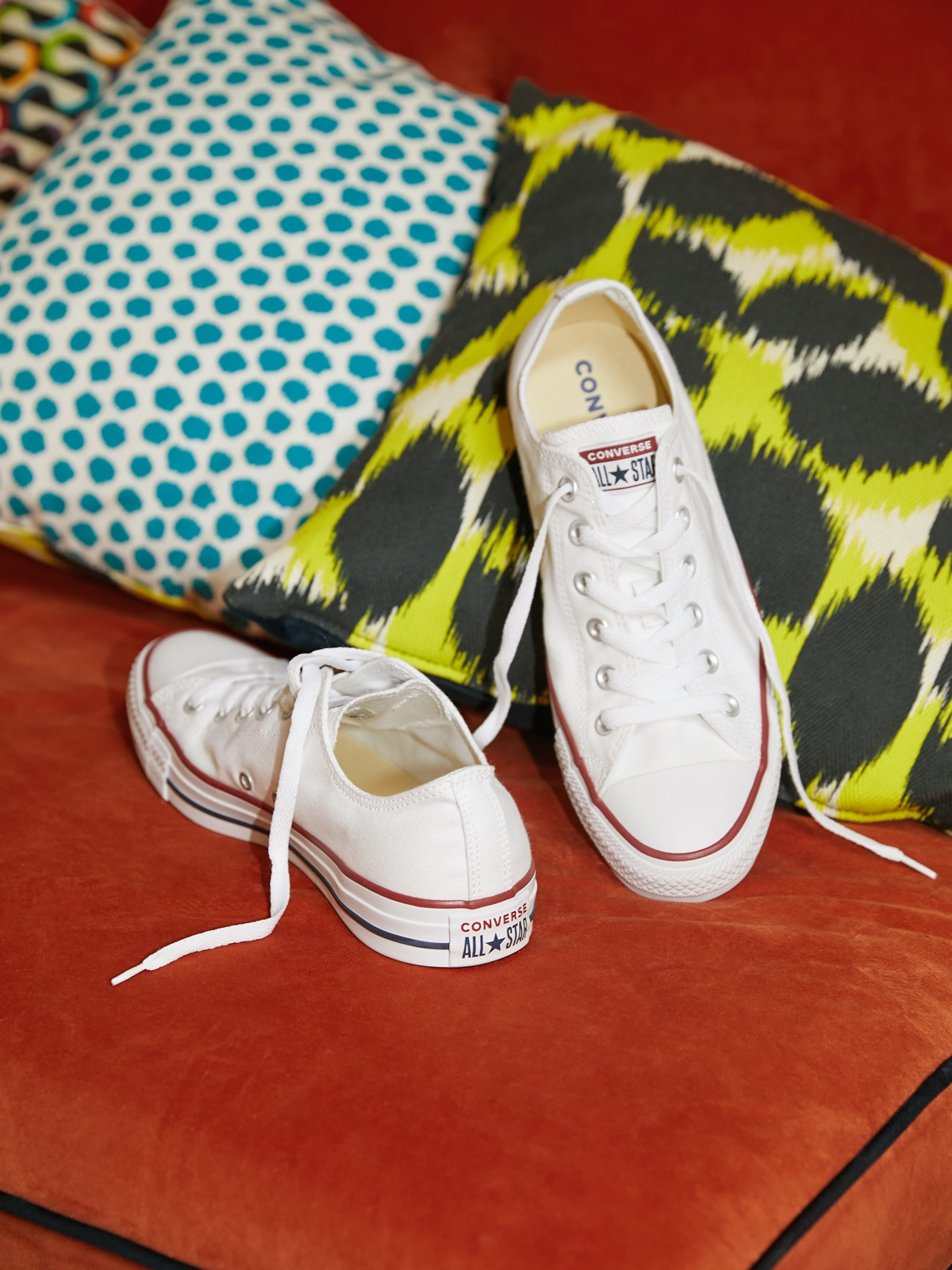 Converse All Star Ox Canvas Sneakers White