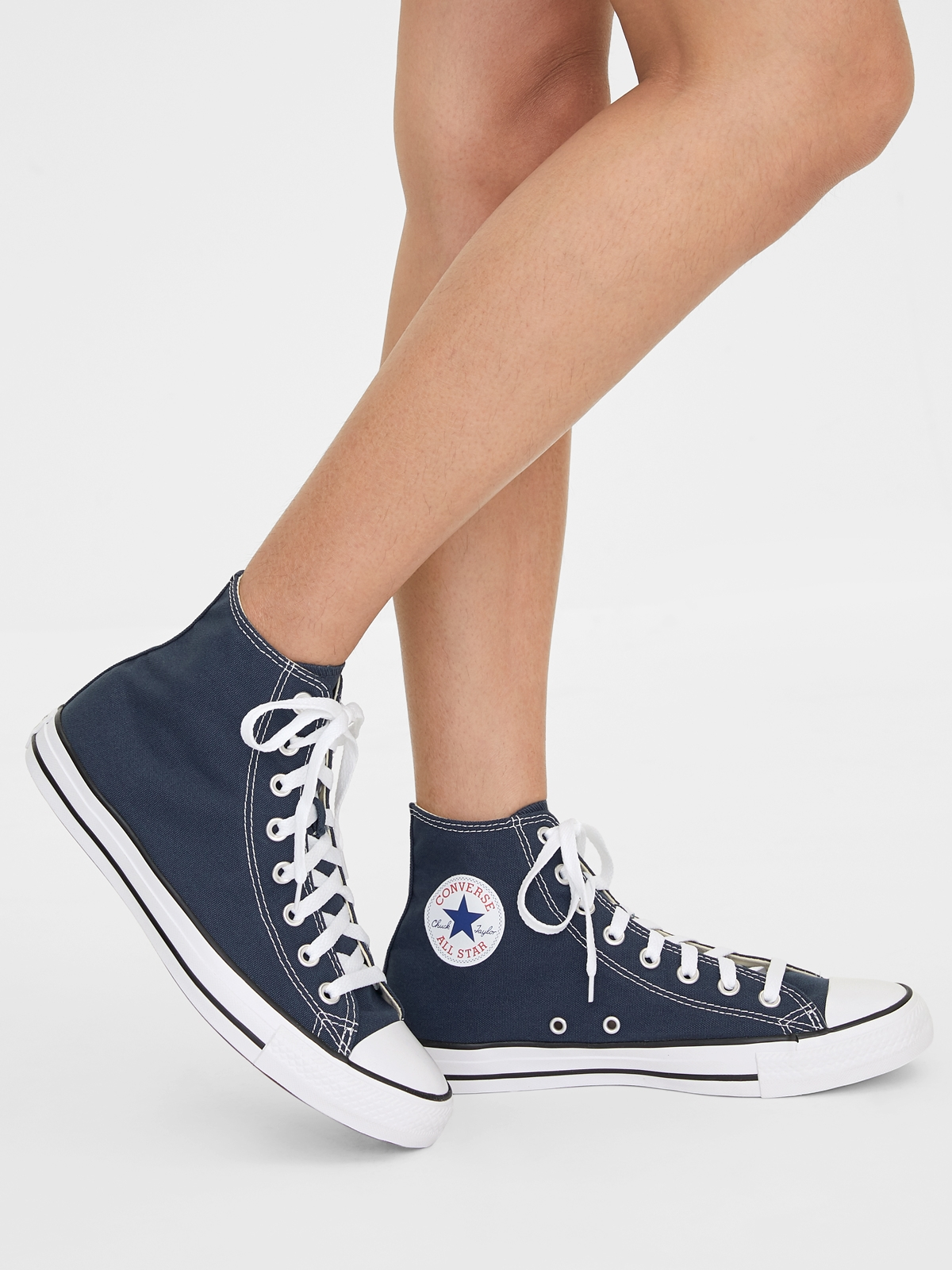 Converse All Star Hi Canvas Sneakers Navy