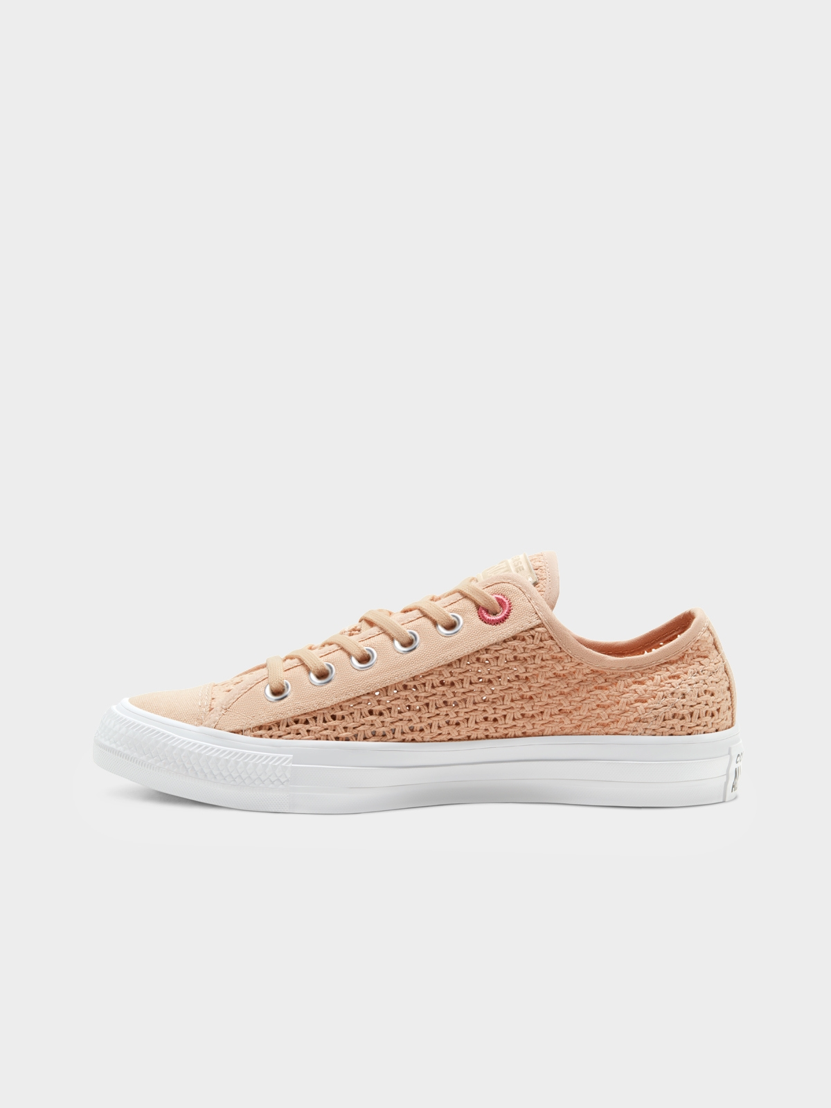 Converse Chuck Taylor All Star Shimmer Sneakers Nude Pi