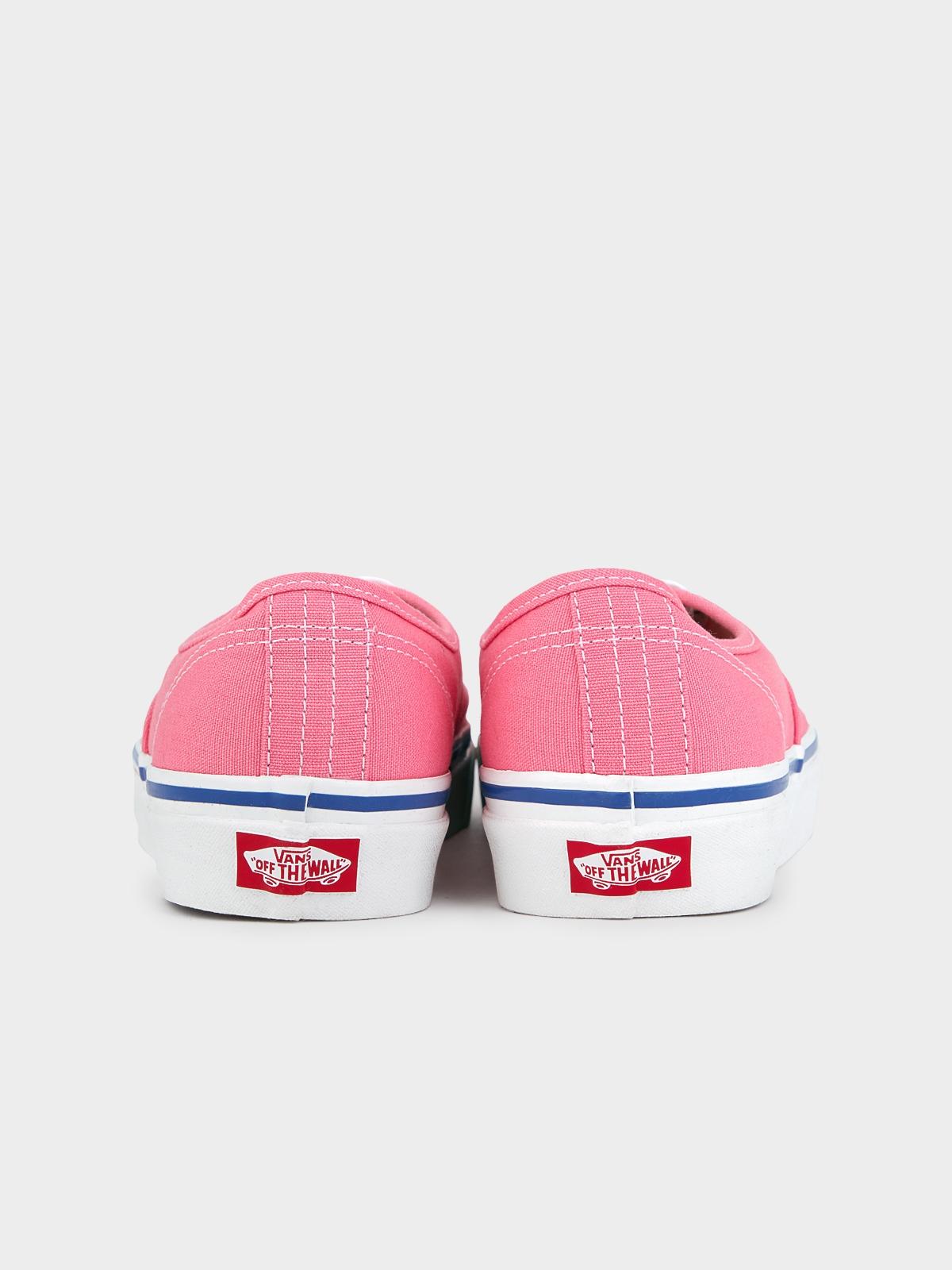 Vans UA Authentic 44 DX Heart Lace Sneakers Pink