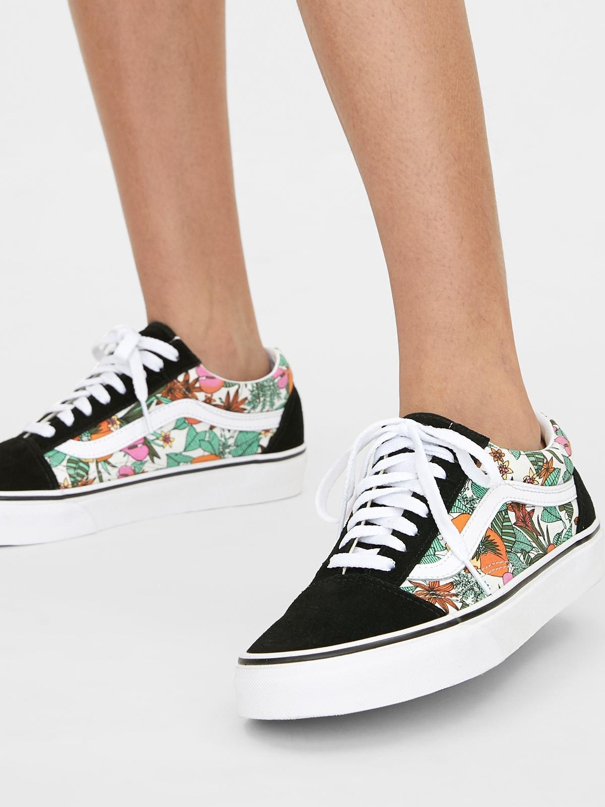 Vans UA Old Skool Multi Tropic Sneakers BlackWhite Mult