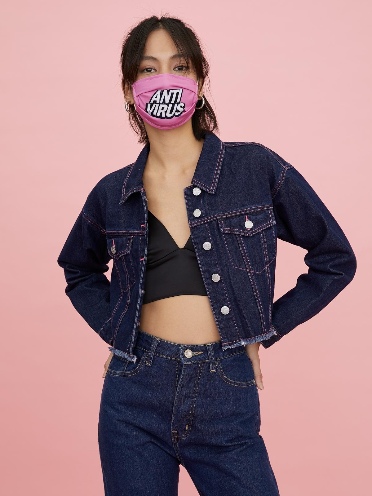 Happy Berry Anti Virus Mask Pink