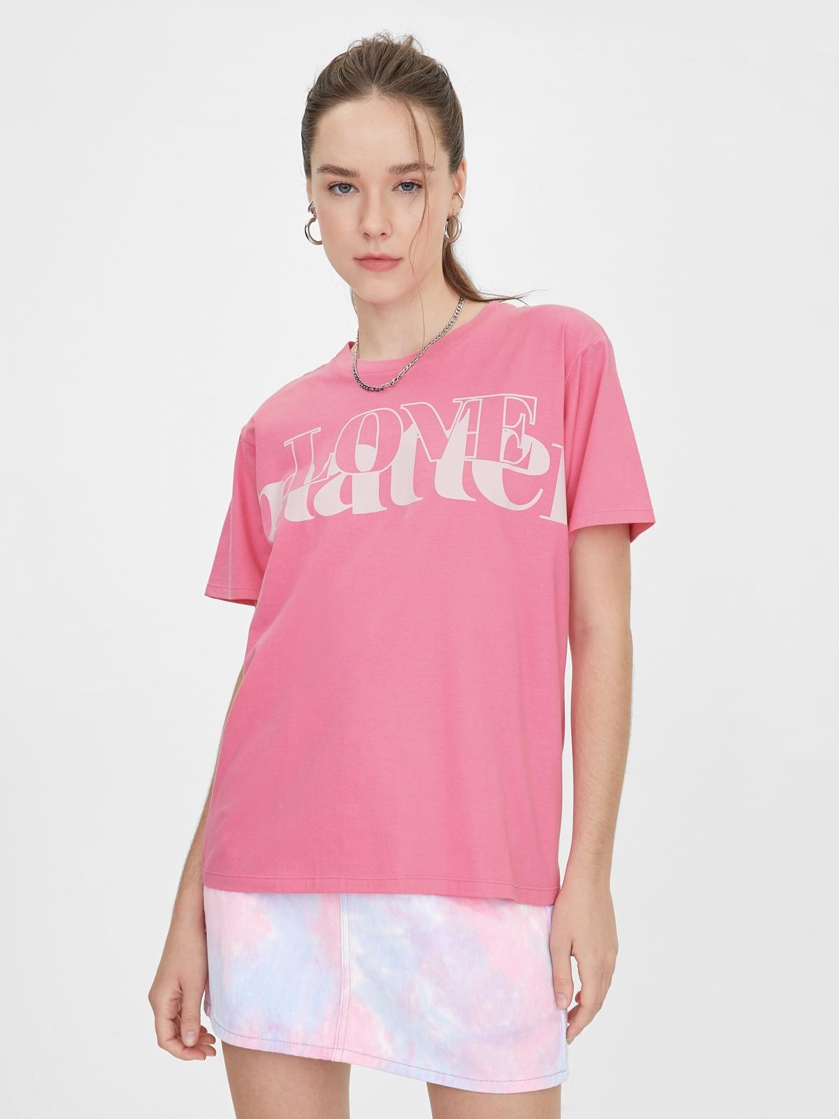 Matter Makers Love Matter TShirt Pink