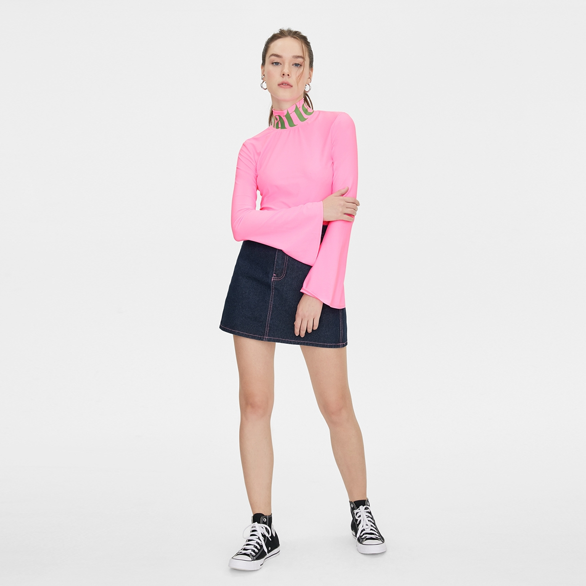 Matter Makers MM Tunnel Neck Sweat Proof Pink