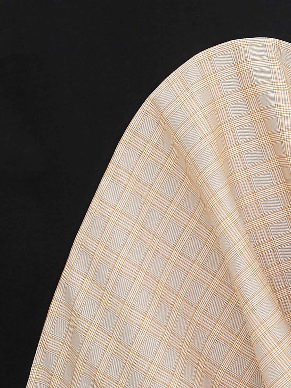 Matter Makers Sleeveless Tartan Maxi Dress Black