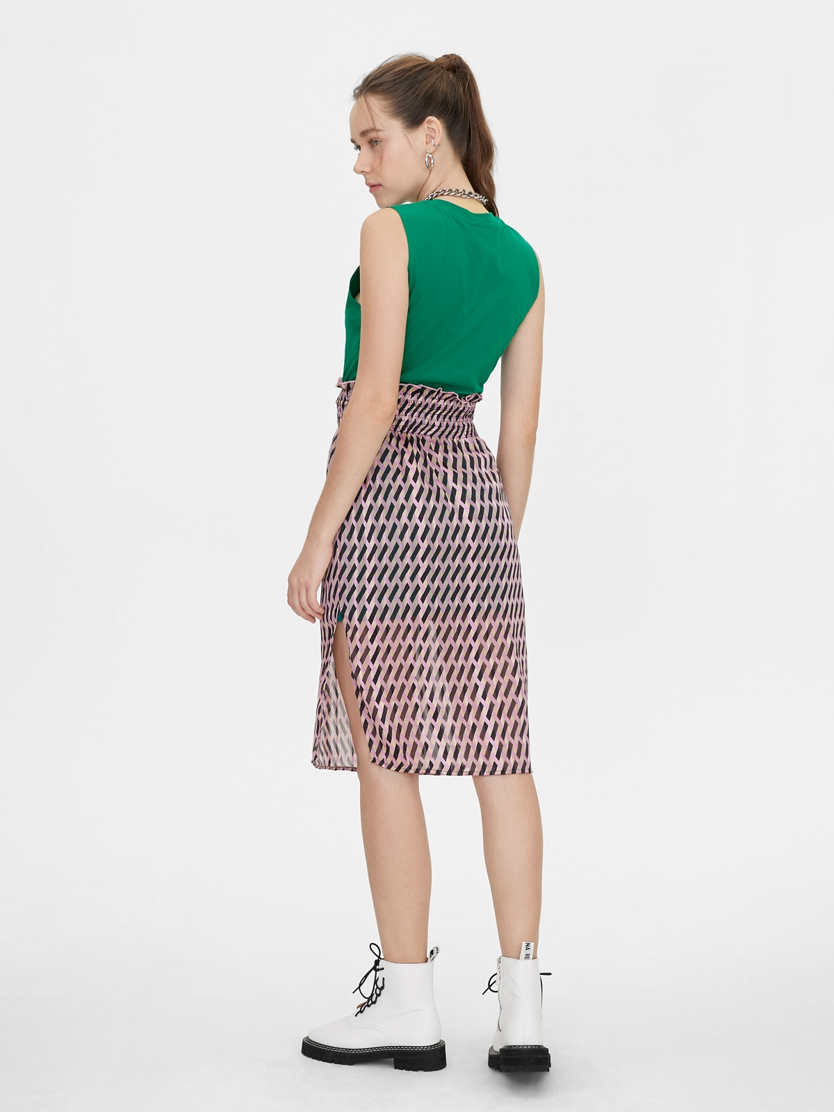 Matter Makers RECYCLE Jersey Dress Green
