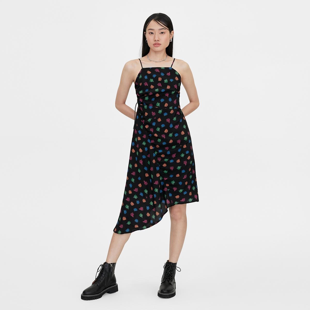 Matter Makers Asymmetric Gummy Bear Dress Black