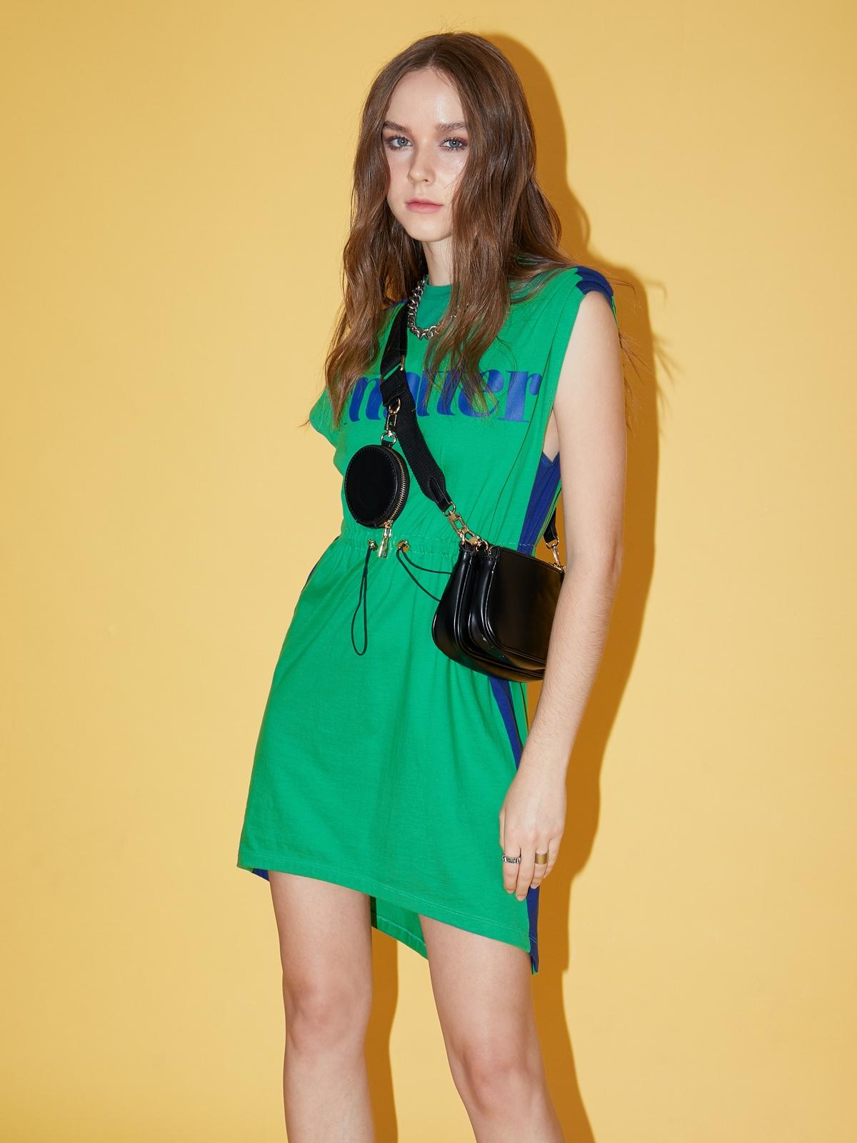 Matter Makers BiColor MATTER Dress Green