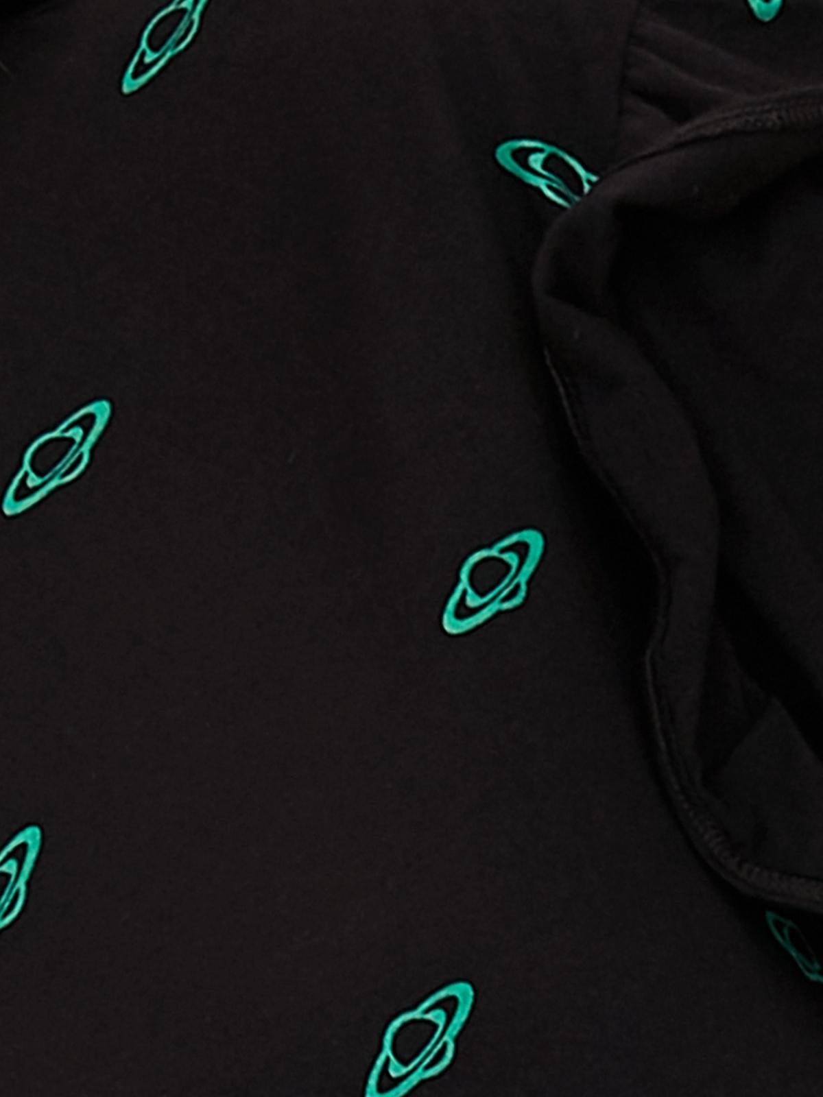 Matter Makers Matter Saturn Printed Dress Black