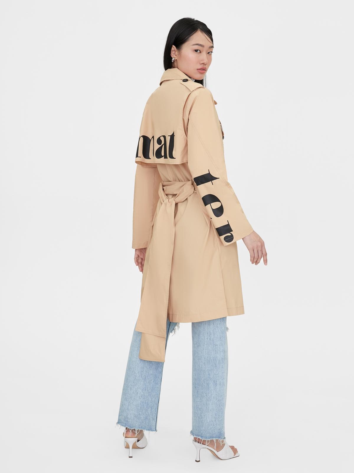 Matter Makers Cotton Light Coat Beige