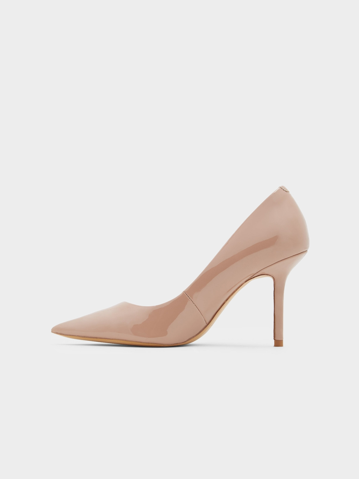 Aldo Laurie Pointed Toe Heels Light Beige