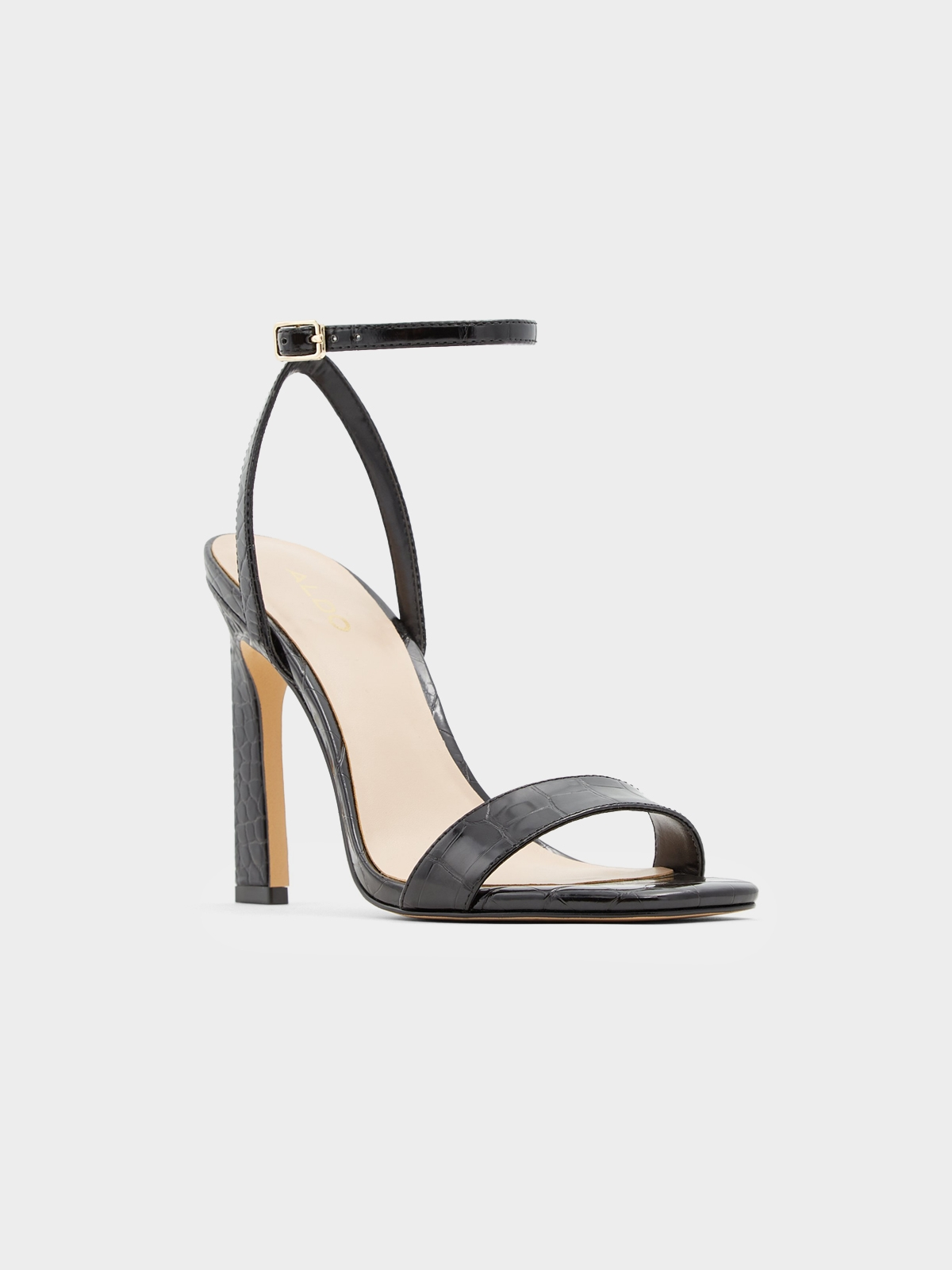 Aldo Gorgeous Heels Black