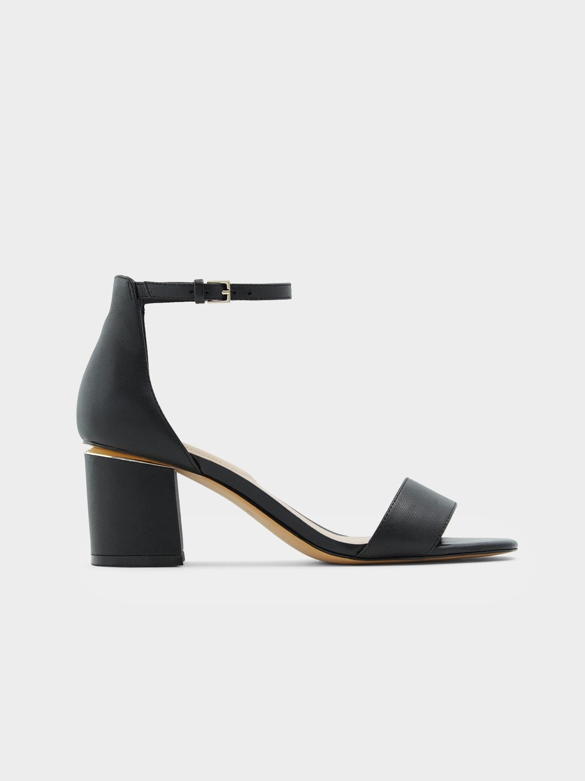 Aldo Valentina Block Heels Black