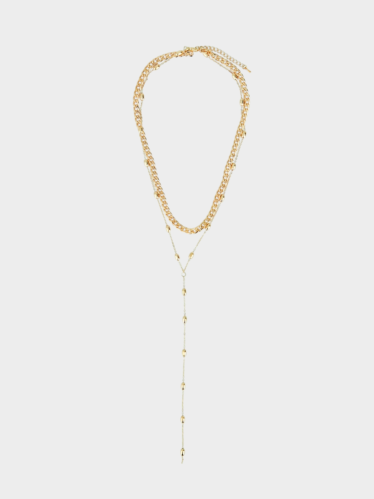 Dainty Layered Chain Necklace Gold